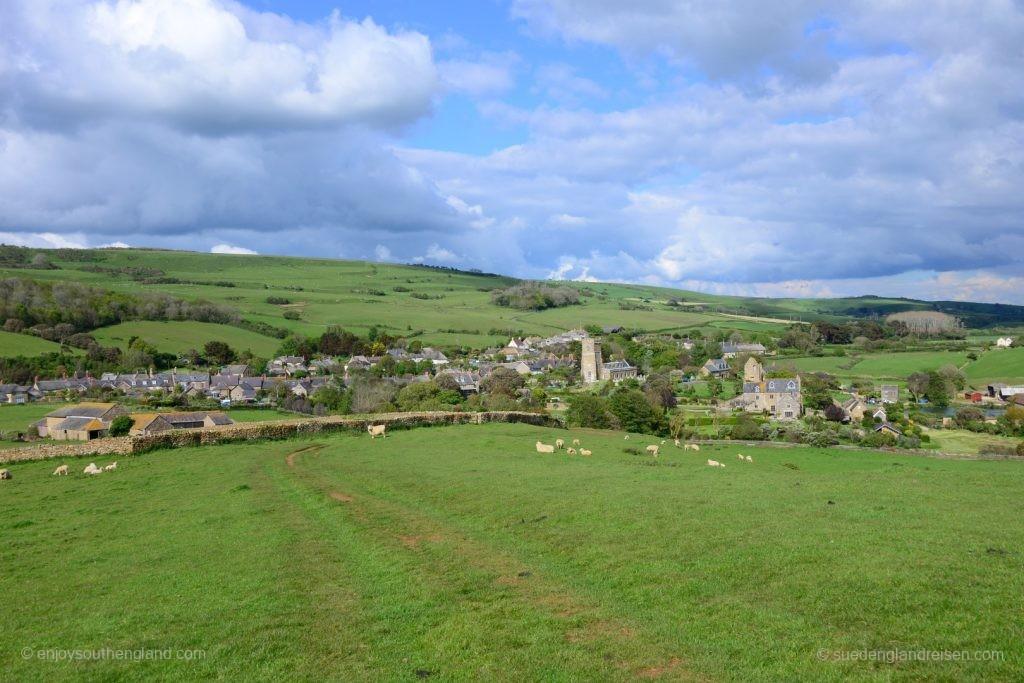 Wunderschön gelegen: Abbotsbury in Dorset, an der Jurassic Coast
