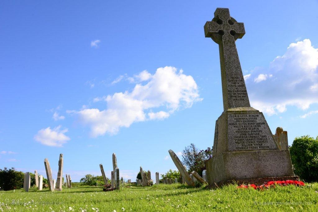 Auf dem Friedhof von Abbotsbury