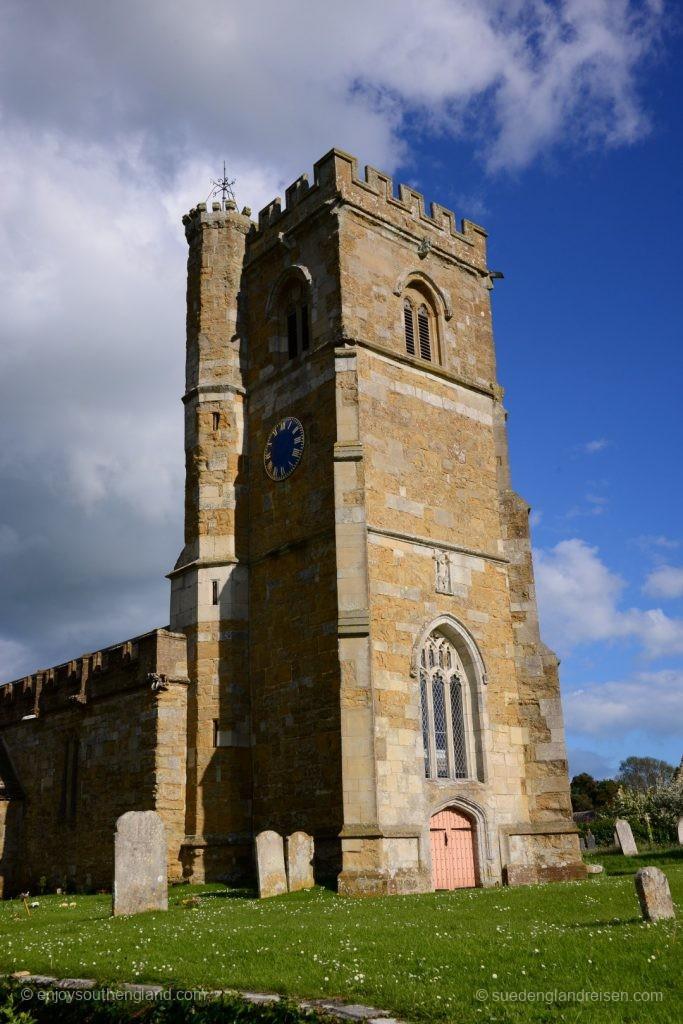 Die Dorfkirche von Abbotsbury