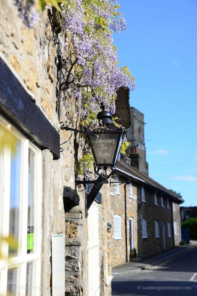 So klein Abbotsbury auch ist - ein Tea-Room ist natürlich vorhanden!