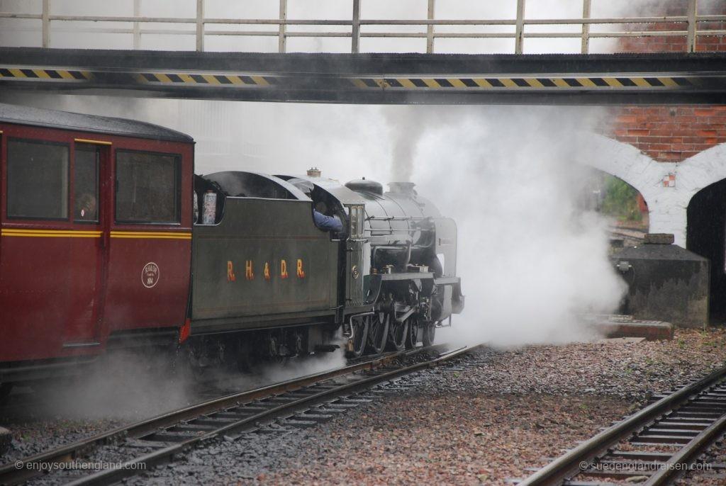 Die Romney, Hythe & Dymchurch Railway