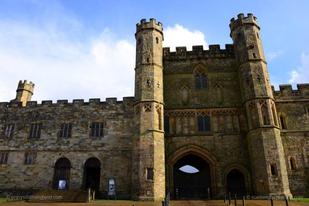 Der EIngang zur ehemaligen Abbey (Hastings 1066)