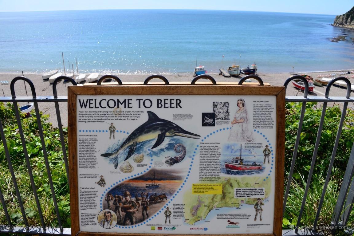 Beer - tatsächlich ein Ort in Devon