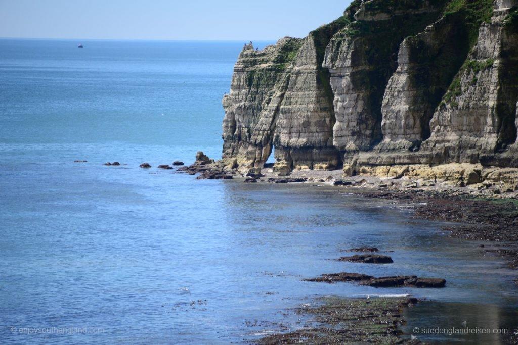Die Bucht von Beer in Devon