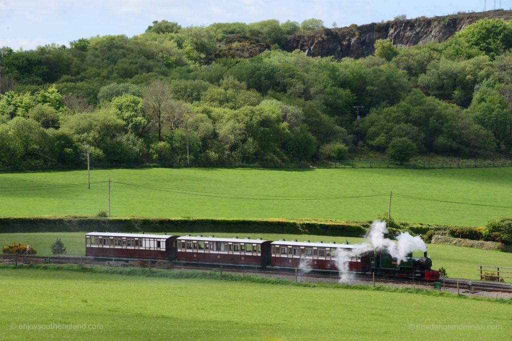 Die Lynton & Barnstaple Railway unterwegs