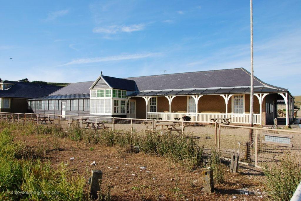 Birling Gap - Haus den National Trust nahe der Abbruchkante