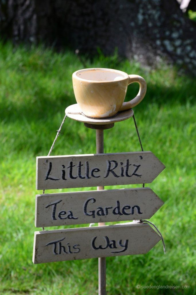 Der Mini-Tea Garden in Borde Hill