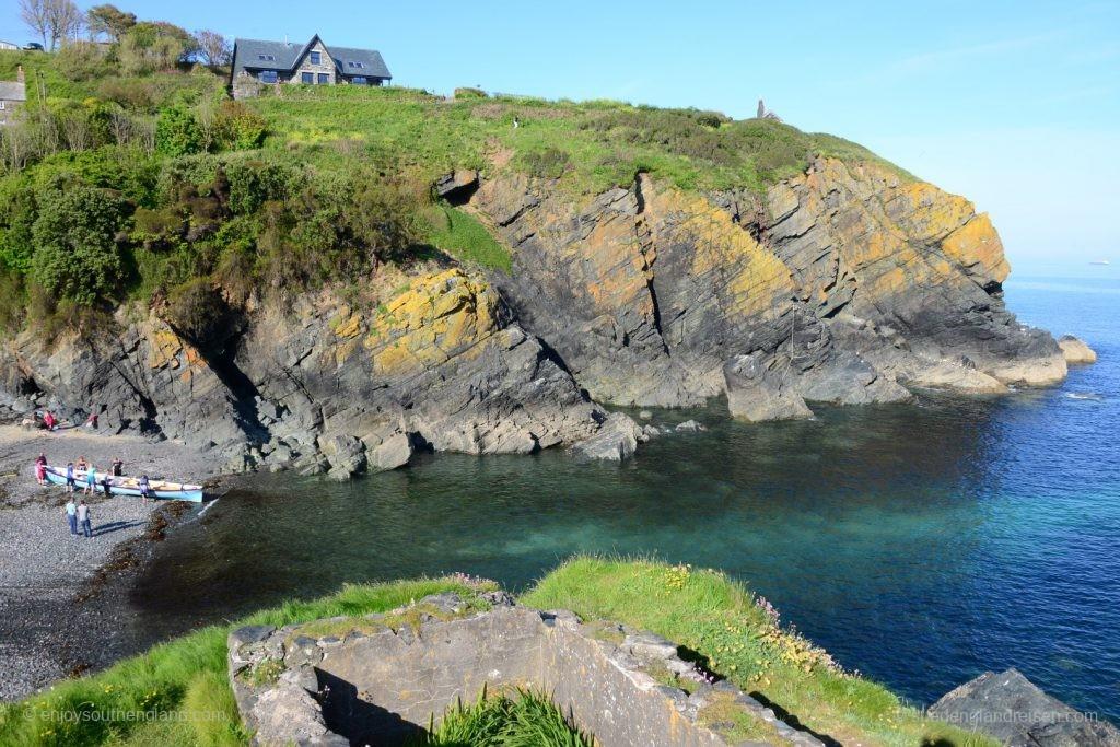 Die Bucht von Cadgwith (Cornwall)
