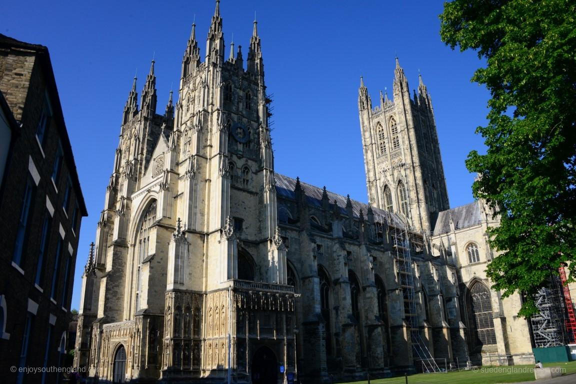 Prächtig: Die Canterbury Cathedral