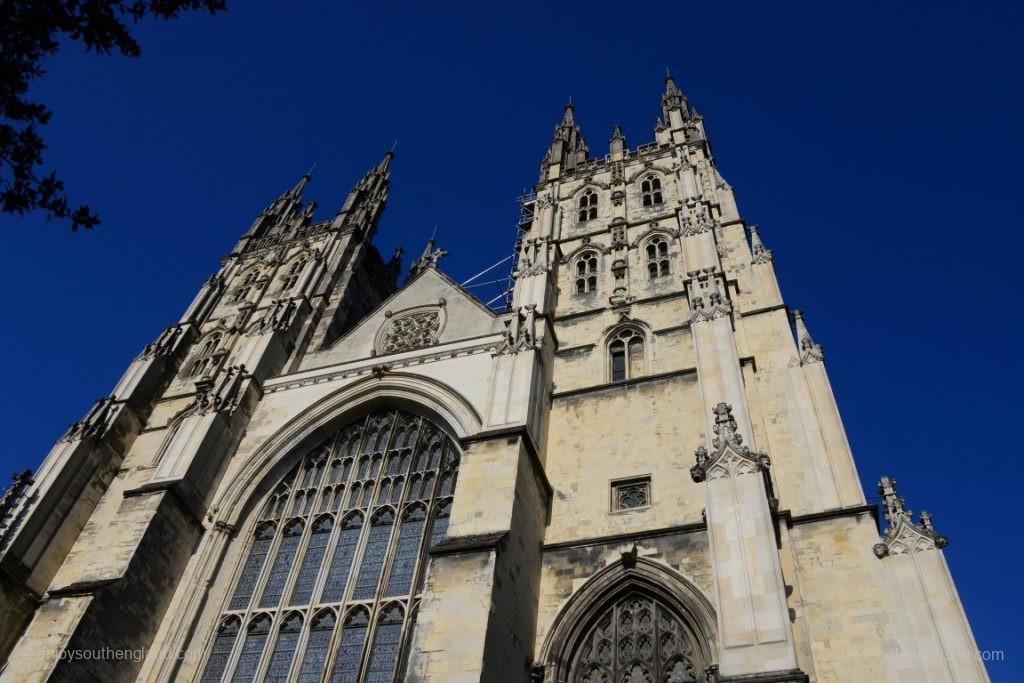 Canterbury Cathedral von außen