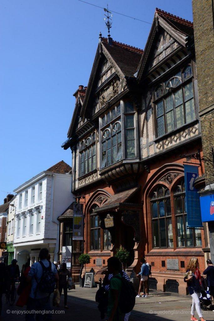 Alte Gebäude in der Innenstadt von Canterbury