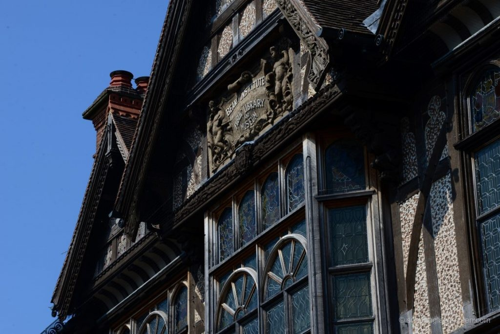 Hausdetail in Canterbury