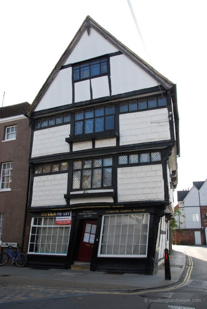 Das wohl schrägste Haus von Canterbury