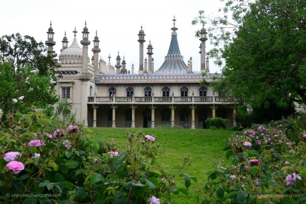 """Der """"Royal Pavillon"""" in Brighton - ein wirklich schräges Gebäude!"""