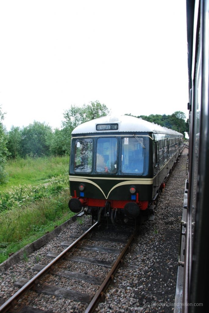 Kent & East Sussex Railway - Diesel-Triebwagen