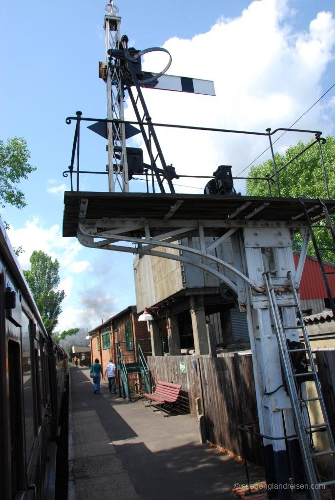 Kent & East Sussex Railway - technische Einrichtungen