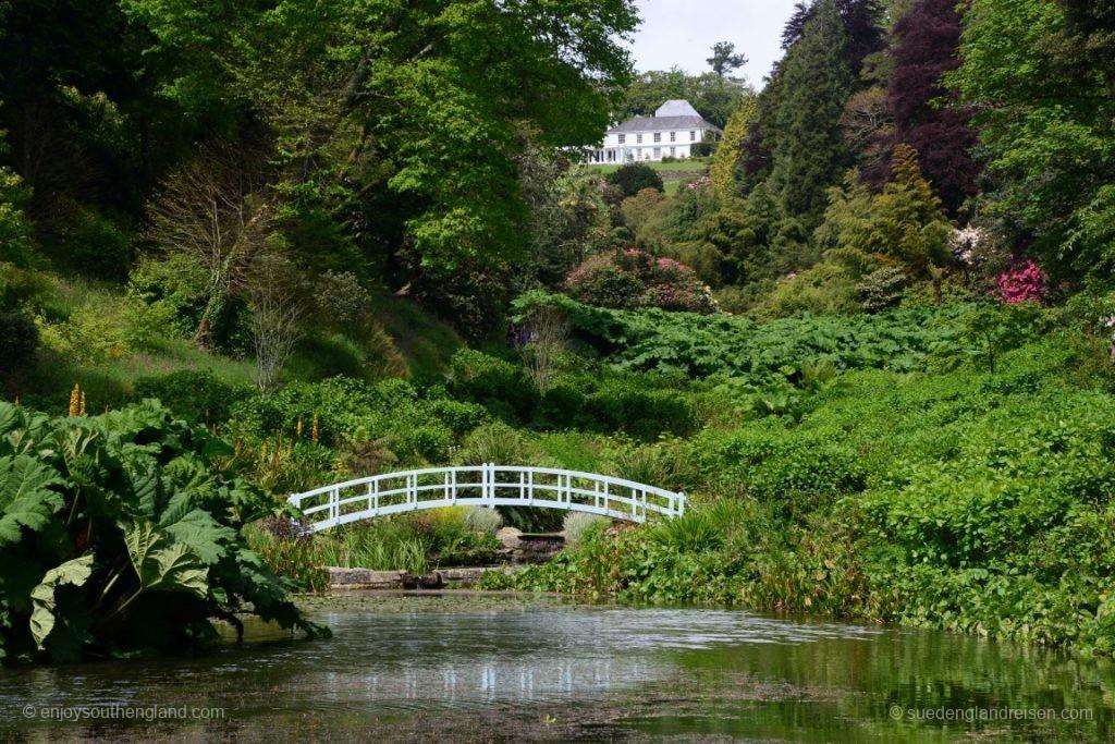 Typisches Tal in den beiden Gärten (hier: Trebah)