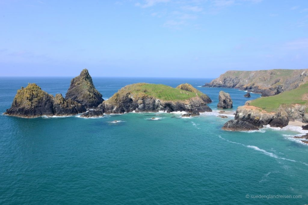 Morgens bei Kynance Cove