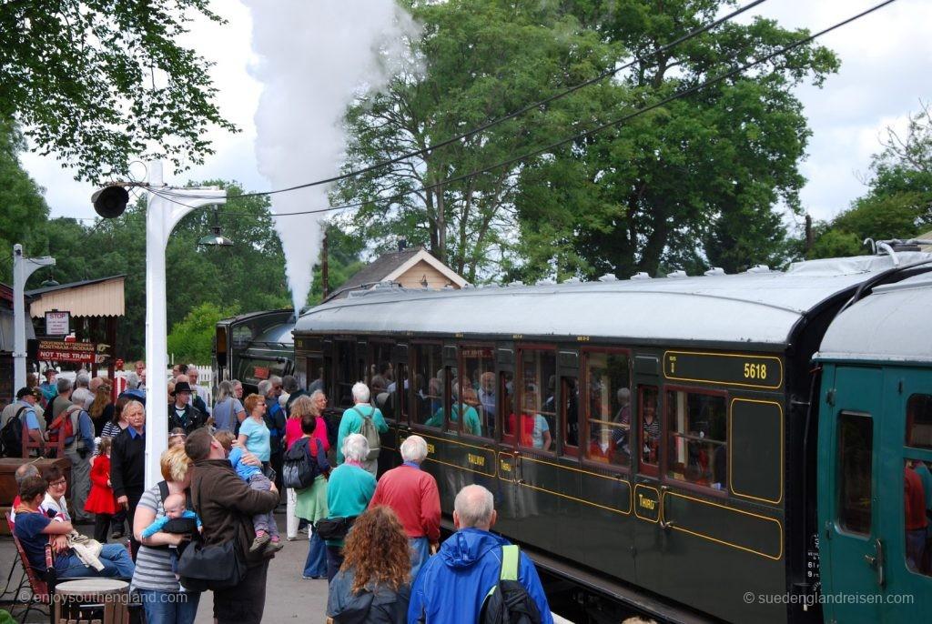 Kent & East Sussex Railway - große Nachfrage der Besucher