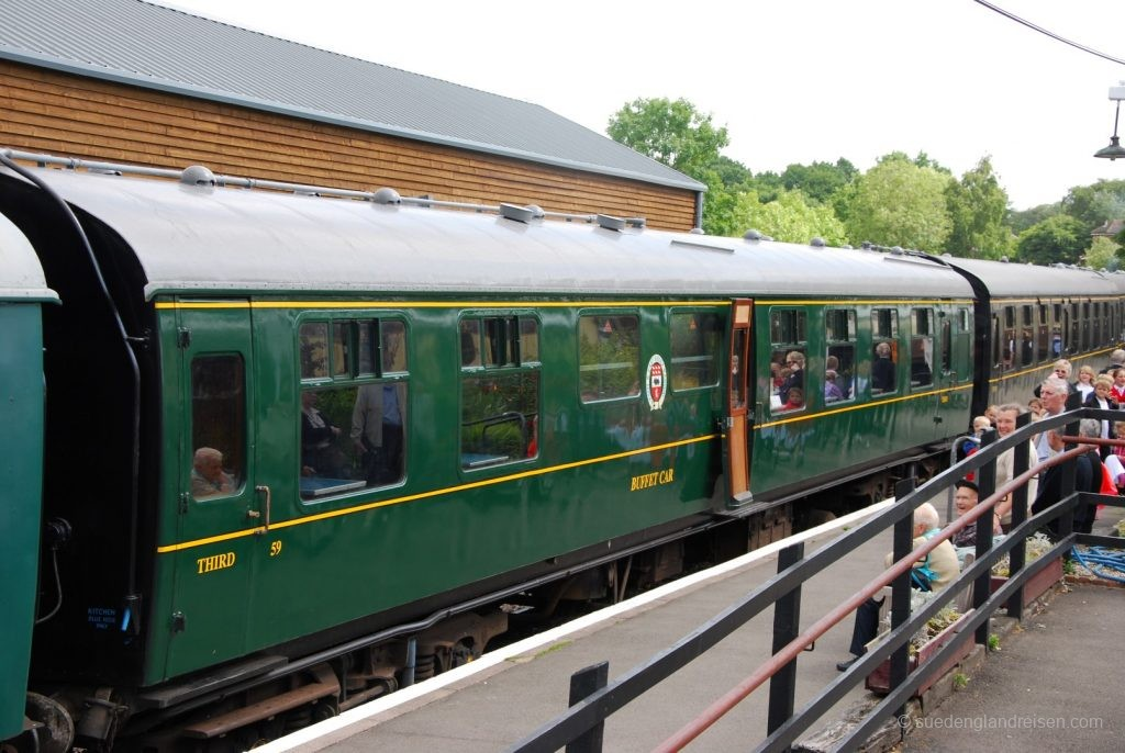 Kent & East Sussex Railway - Einstieg