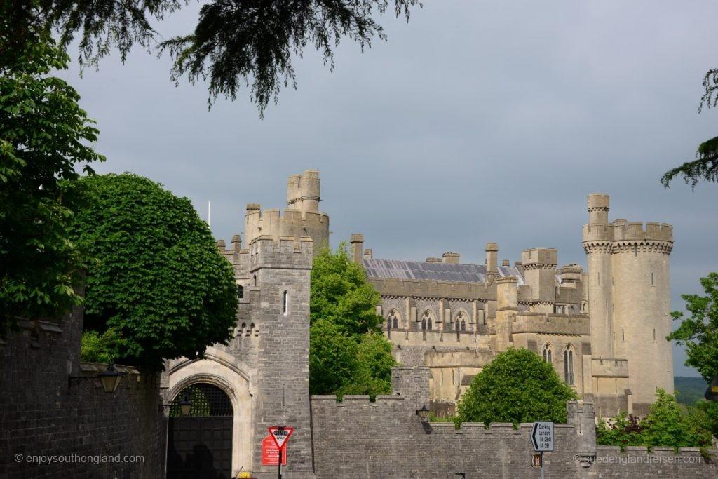 Schon mächtig, das Castle von Arundel