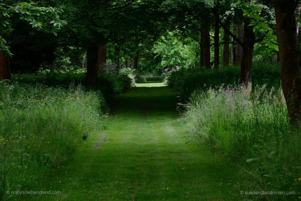 Auch im Garten von Petworth House