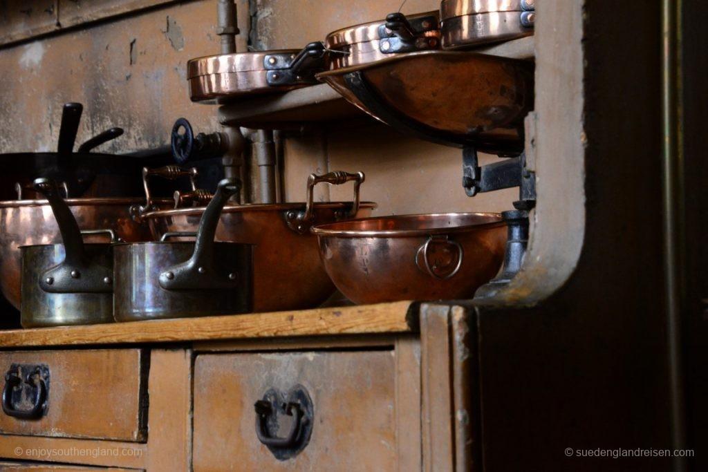 Spannend aber auch der Blick hinter die Kulissen, z.B. in die Küche