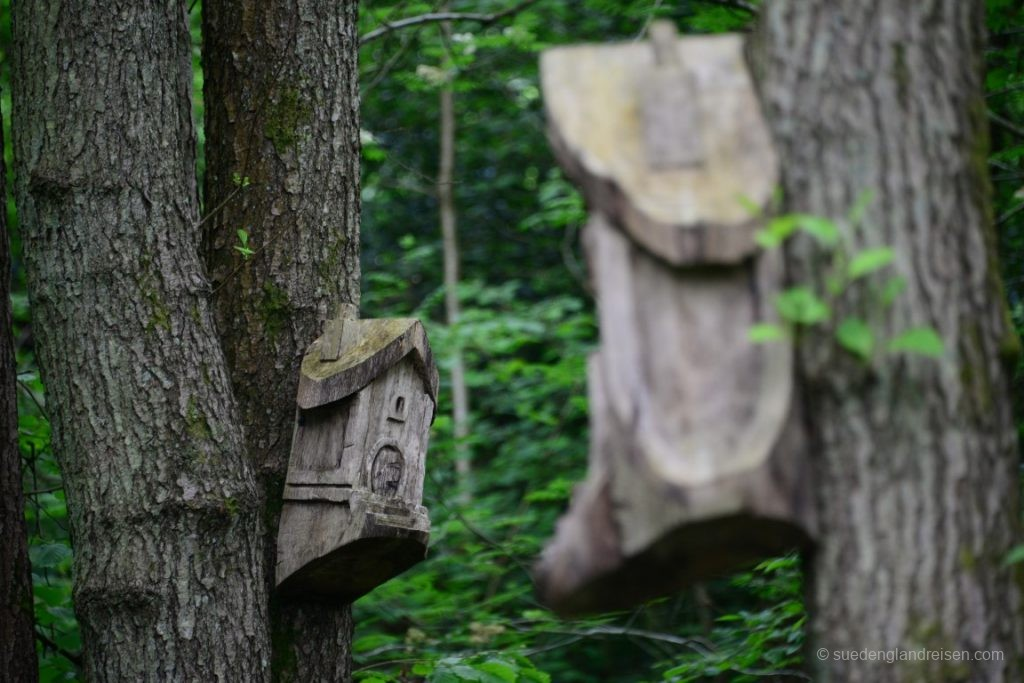 Vogelhäuser Im Winkworth Arboretum