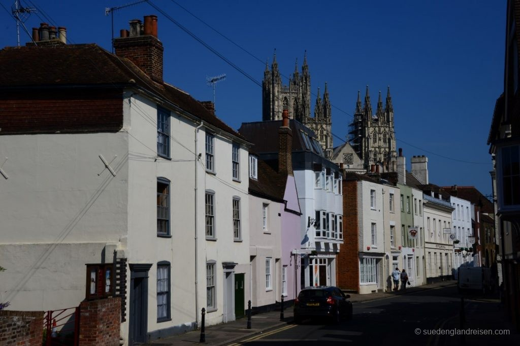 Häusergasse in Canterbury