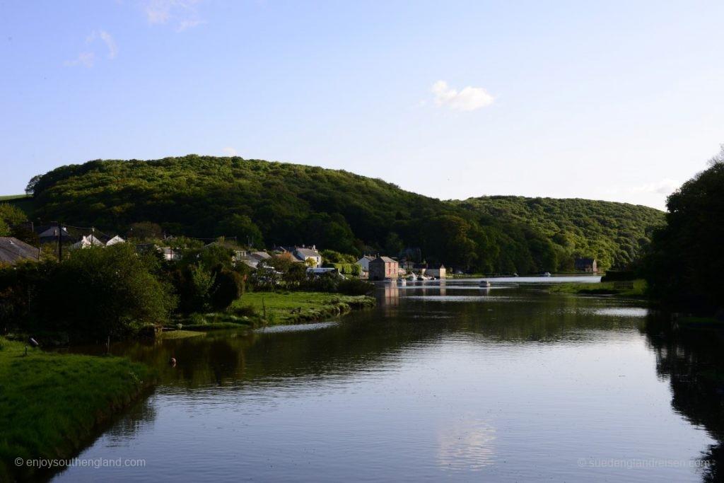 wunderschön: Das ruhige Estuary des RIver Lerryn