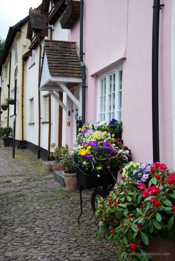 Häuser in Dunster (Somerset)