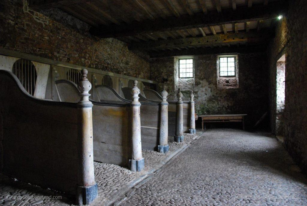 In den Ställen des Castle von Dunster