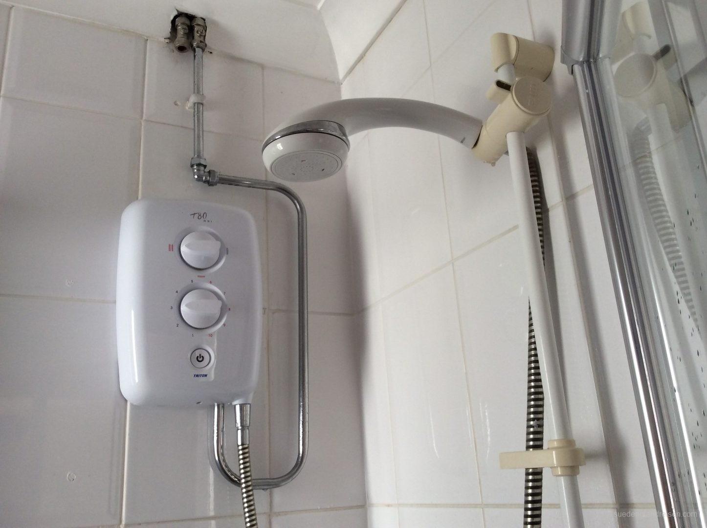 Durchlauferhitzer für die Dusche