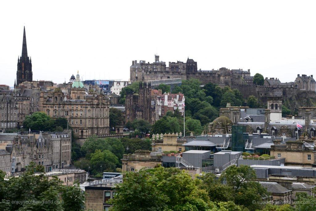 Edinburgh im Blick