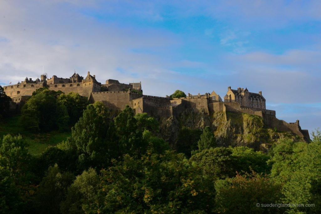 Edinburgh Castle am Morgen