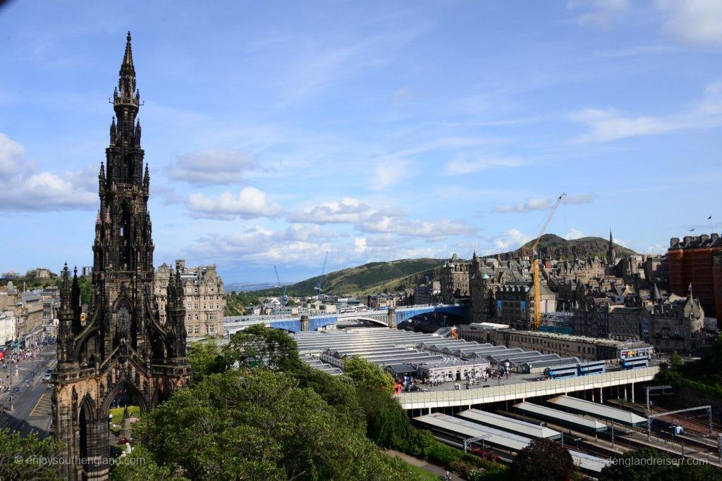 Edinburgh aus einer ungewöhnlichen Perspektive - von einem Riesenrad!