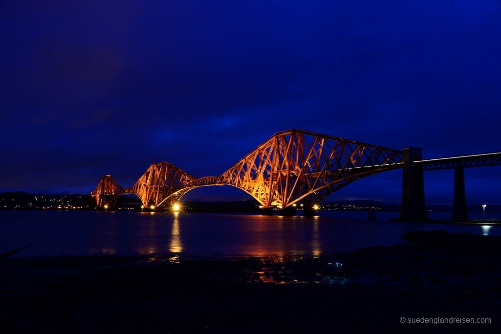 The Forth Bridge at South Queensferry