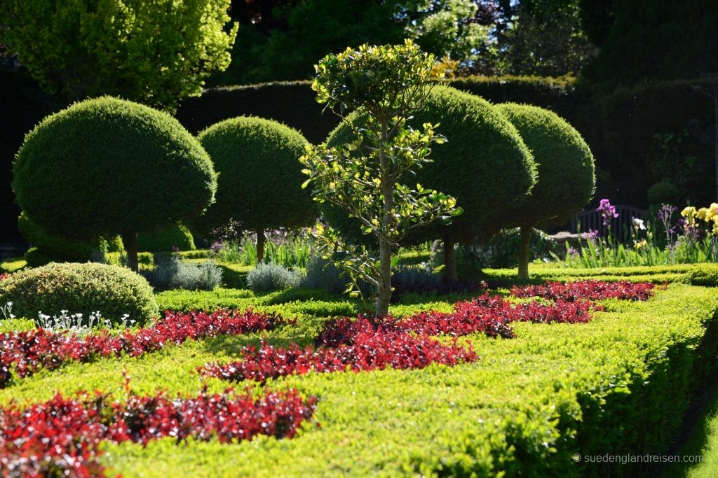 Abbey House Gardens - im formalen Garten