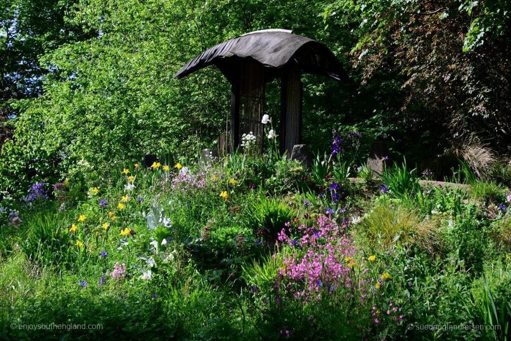 Abbey House Gardens - im Landschaftsgarten