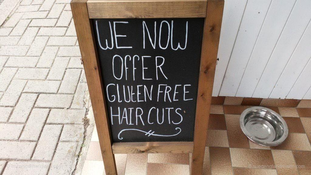 Bei diesem Frisör gibt es nicht nur normale Haarschnitte - sondern diese auch glutenfrei!