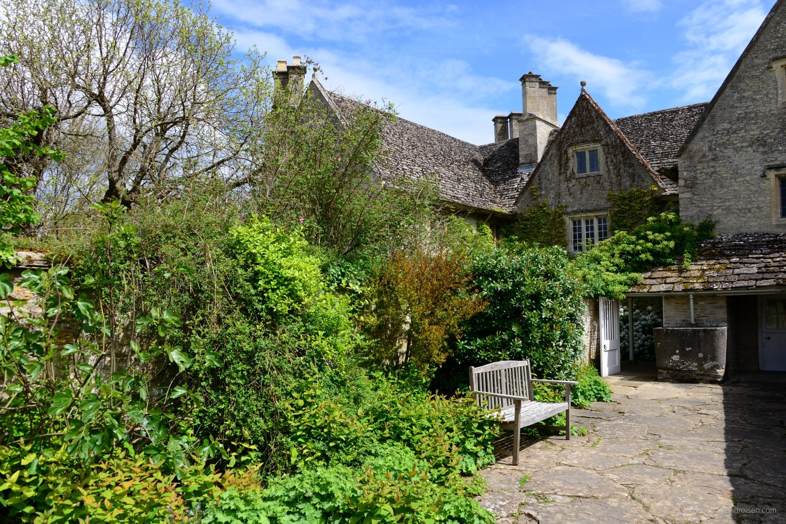 Kelmscott Manor in Oxfordshire