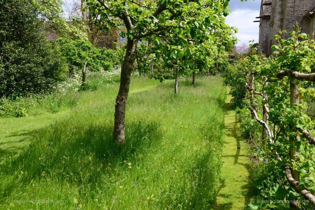 Im Garten von Kelmscott Manor