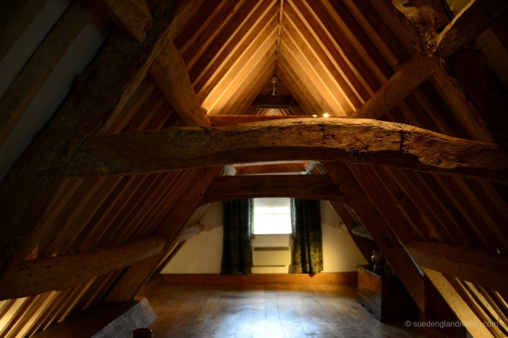 Ausgebauter Dachboden im Kelmscott Manor