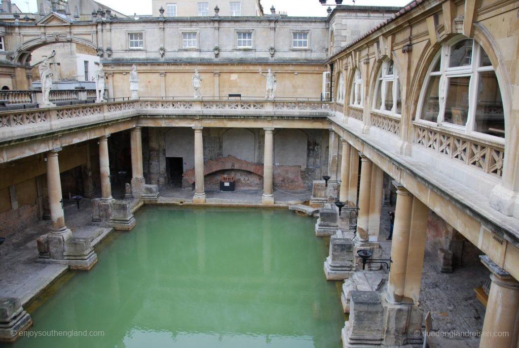 Roman Baths in Bath (Somerset)