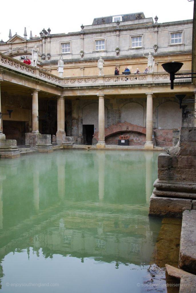 In den Roman Baths in Bath