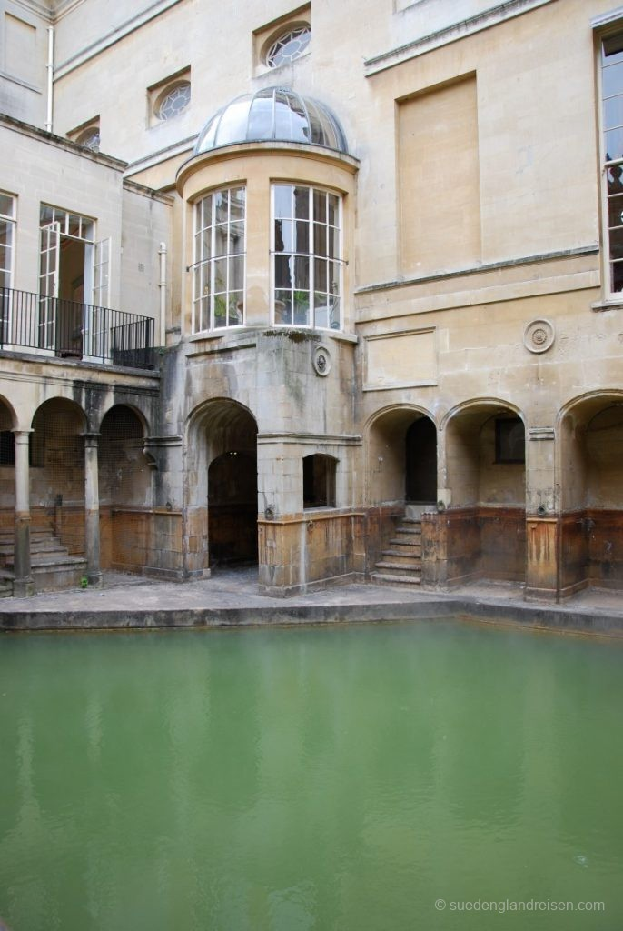 Die Roman Baths in Bath