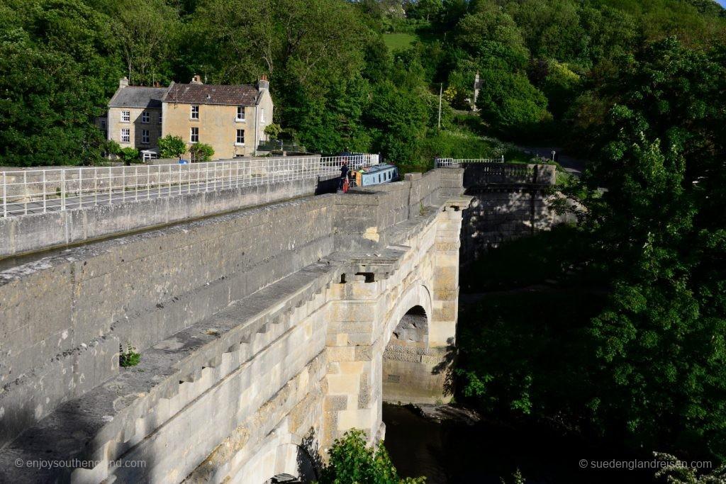Der Avoncliff Aqueduct in Wilthire
