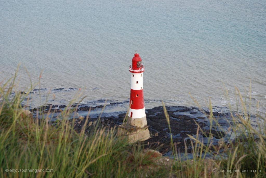 Der 1902 gebaute Leuchtturm mit 43 Metern Höhe - sein Licht ist über 26 Seemeilen (42 km) sichtbar