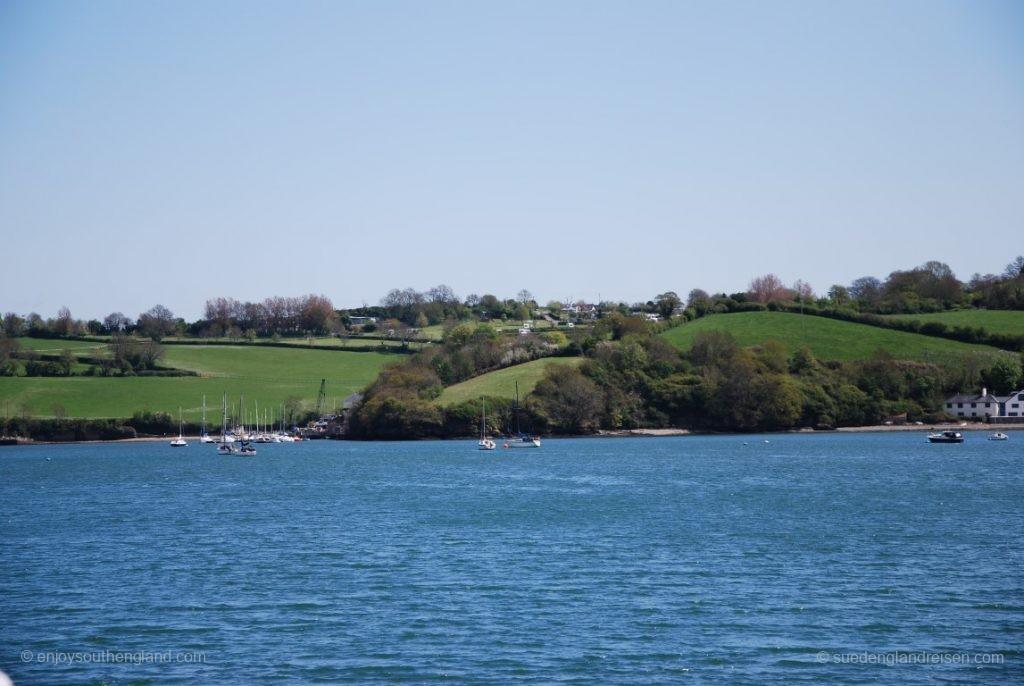 Landschaft am River Dart