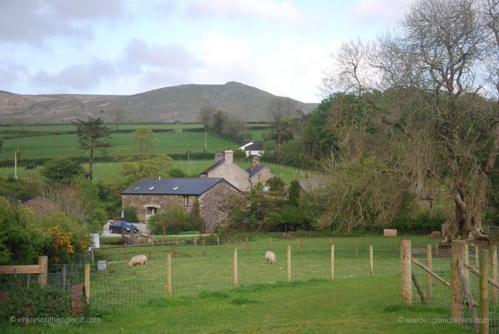 Typische Farm im Dartmoor